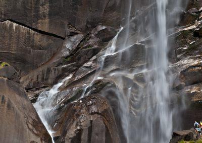 Ai Piedi delle Vernal Falls -Yosemite National Park