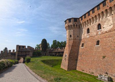 Castello di Gradara - Ingresso