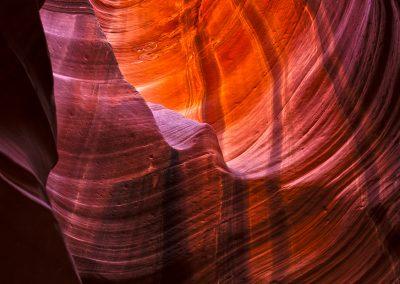 Colori intensi - Antelope Canyon - Arizona