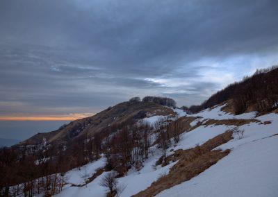 Fine Inverno - Monte Borgognone