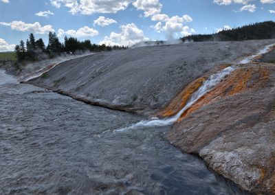 Firehole River - Midway Basin - Yellowstone National Park