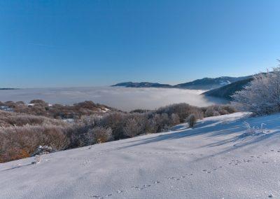 Fuori dalla nebbia - Passo del Cirone