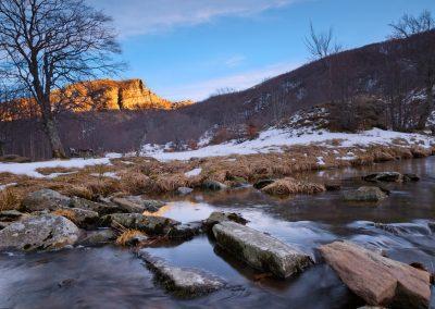 Inverno - Capanne di Badignana