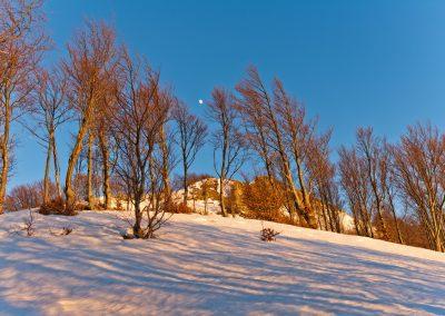 Luce ambrata - Monte Borgognone
