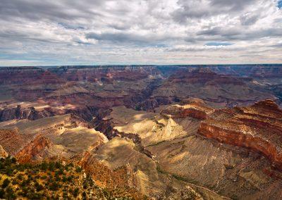 Luci e ombre sul canyon - Grand Canyon
