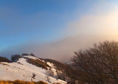 Monte Borgognone verso Passo del Cirone