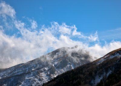 Monte Marmagna tra le nuvole - Parco dei Cento Laghi
