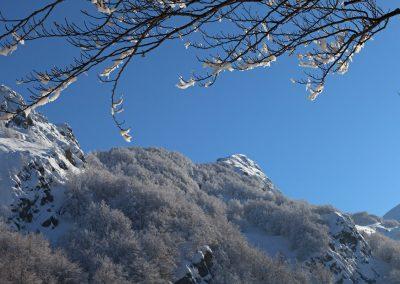 Monte Sterpara dal Lago Santo - Parco dei Cento Laghi