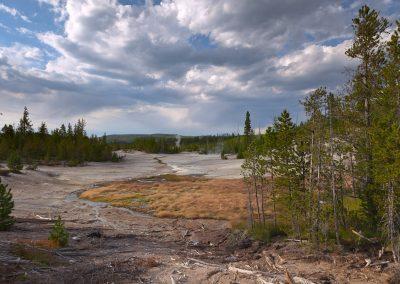 Norris Geyser - Basin - Yellowstone National Park