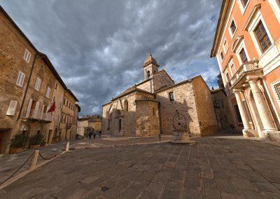 Paese di Montalcino - Siena