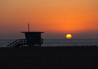 Santa Monica Sunset - California