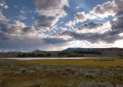 Swan Lake - Yellowstone National Park
