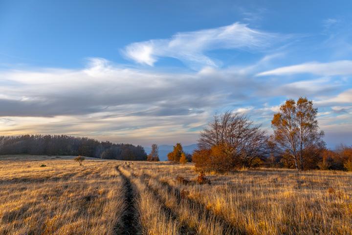 L'Autunno inoltrato: corsa verso l'Inverno sull'Appennino Tosco Emiliano