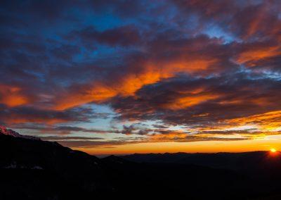 Foto di tramonti dellìappennino
