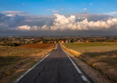 La via per la pianura