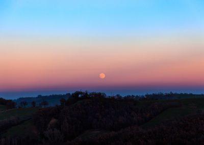 Luna sulla pianura