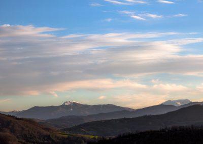 Monte Ventasso visto da Sivizzano