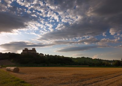 Nubi sul castello